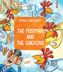 Postman and chickens cover
